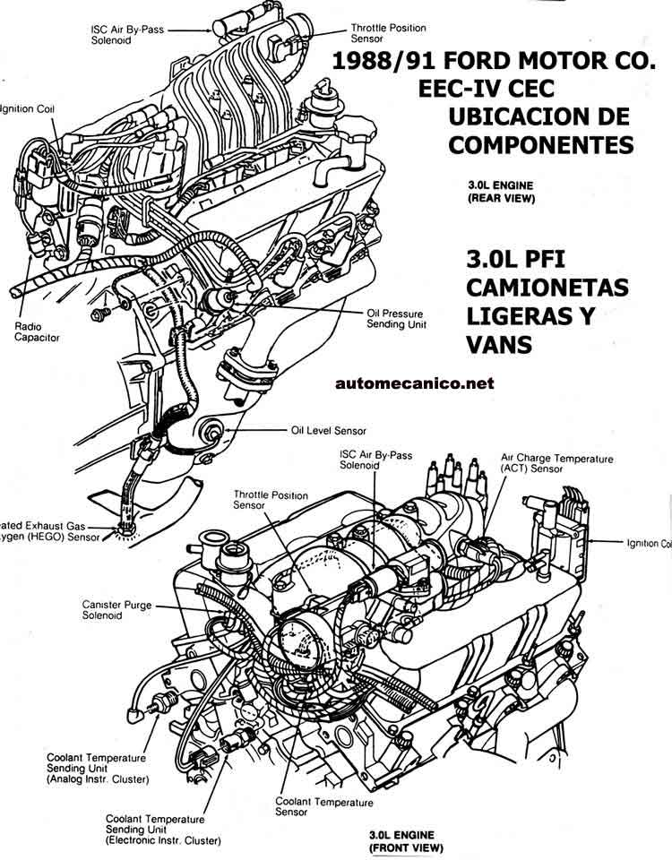 Ford E Series E 250 1995 Fuse Box Diagram likewise 760540 Rear Bumper Removal 92 Aerostar moreover 698881 No Heat To Feet Where Is Vac Door Actuator 2 as well Diagram view together with P0496. on ford aerostar