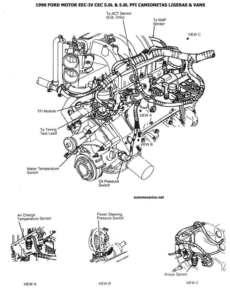 ford 2 3 edis ignition wiring diagram  ford  auto wiring