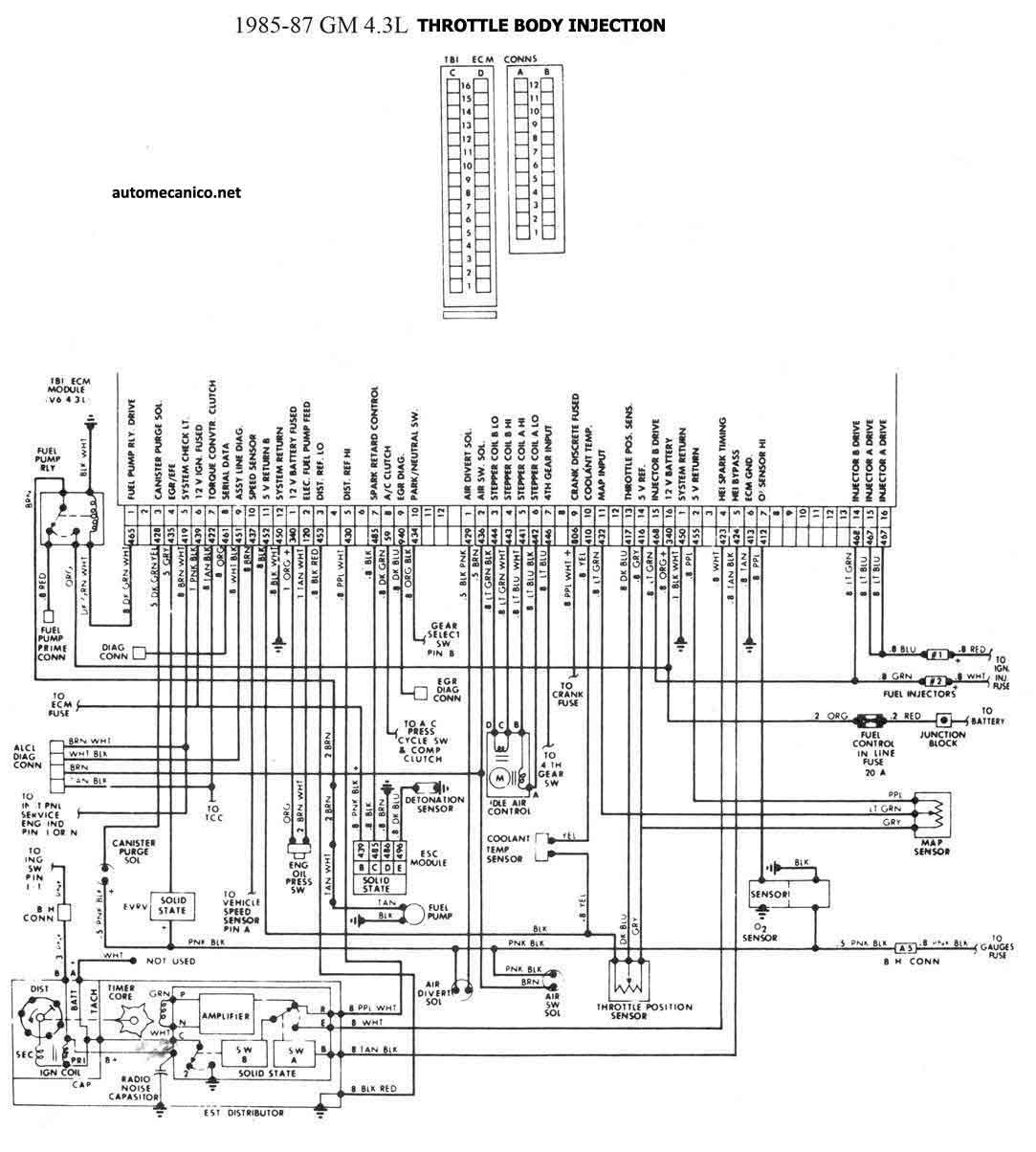 1992 chevrolet wiring diagram