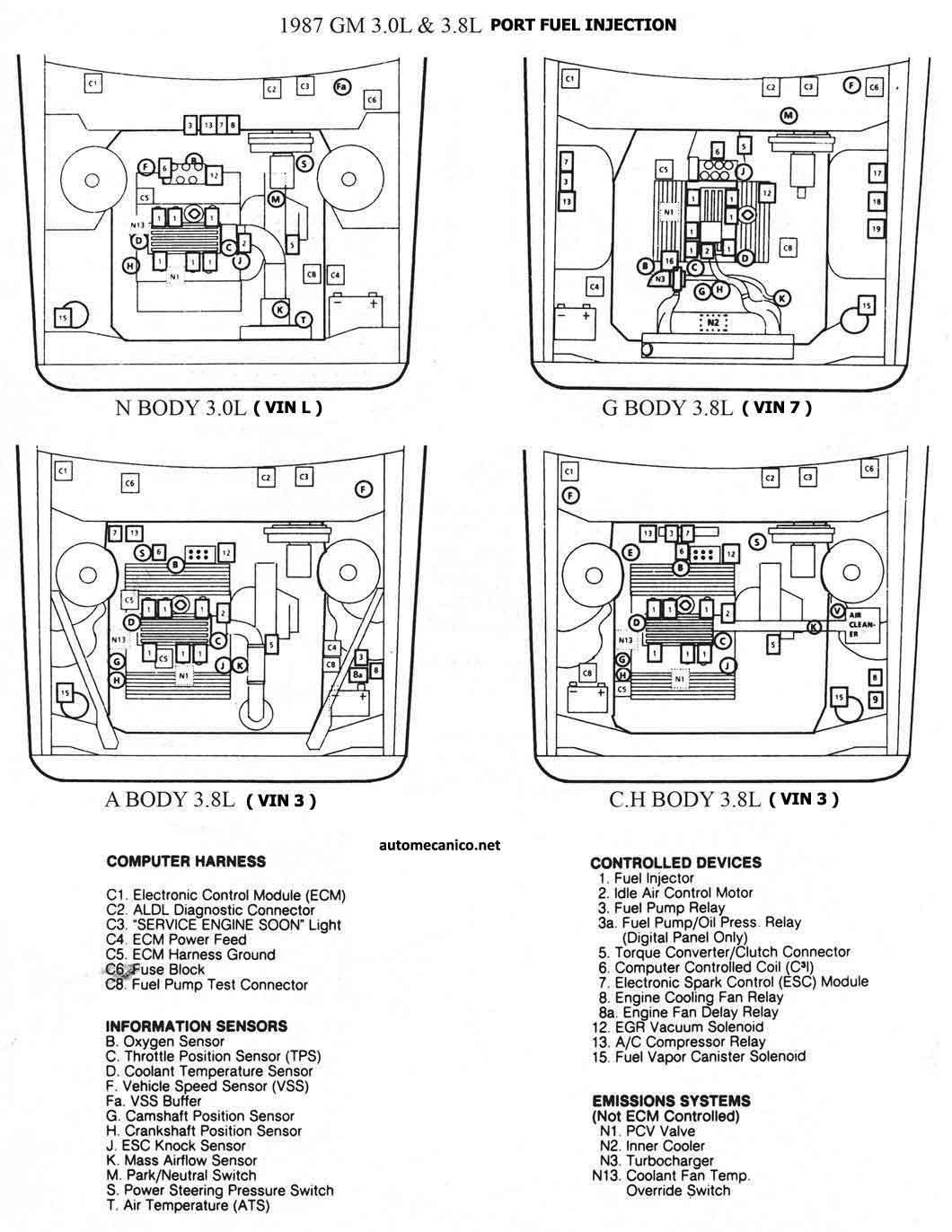 Daewoo Prince Wiring Diagram Schematics Diagrams 20 Diagrama Elctrico Chevy Tbi 14 Foromecanicos Foro De Con Sensores Motores Royale Electronic Circuit