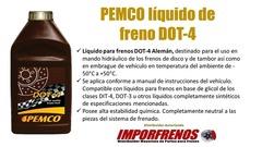 LIQUIDO DE FRENO DOT-4